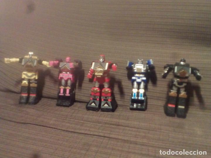 Figuras y Muñecos Transformers: MUÑECO,FIGURA BANDAI 1995, MEGAZORD SHOGUN POWER RANGERS - Foto 7 - 90590840