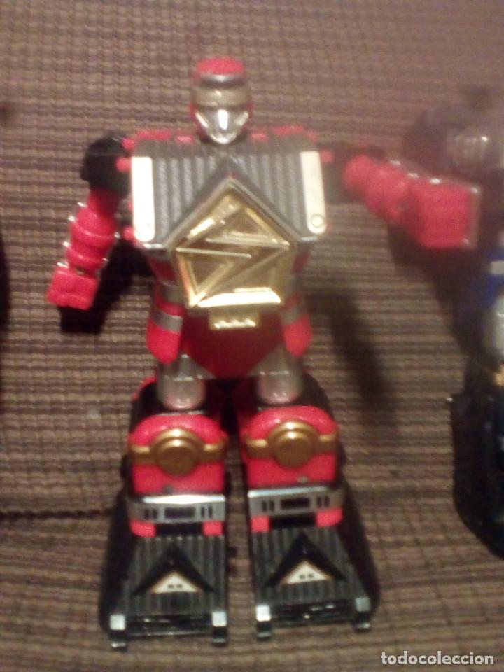 Figuras y Muñecos Transformers: MUÑECO,FIGURA BANDAI 1995, MEGAZORD SHOGUN POWER RANGERS - Foto 10 - 90590840