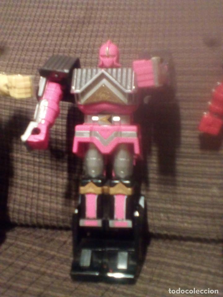 Figuras y Muñecos Transformers: MUÑECO,FIGURA BANDAI 1995, MEGAZORD SHOGUN POWER RANGERS - Foto 11 - 90590840