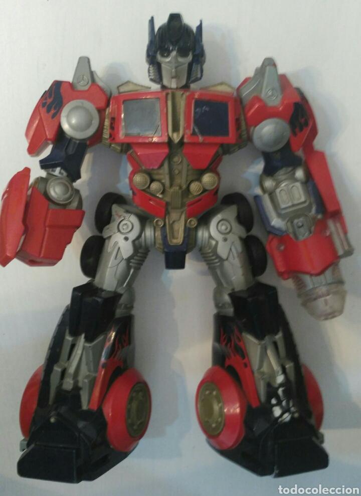 Transformer Optimus Prime De Hasbro Mide 29 Cms De Alto Año 2006