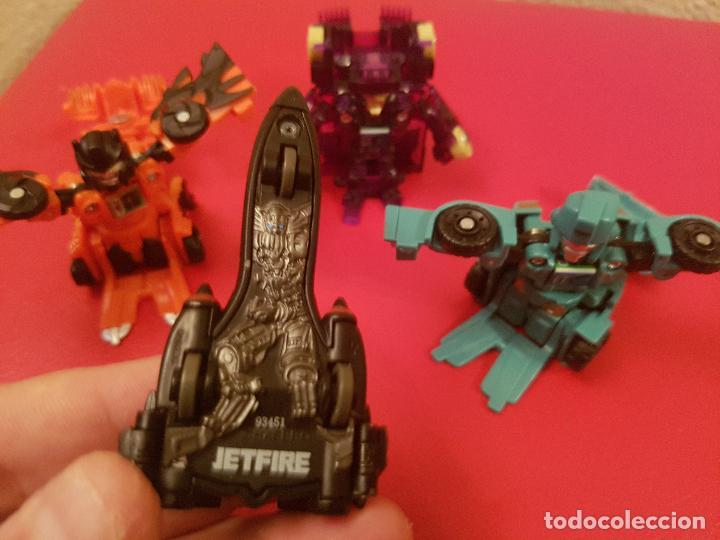 Figuras y Muñecos Transformers: LOTE HASBRO TOMY TRANSFORMERS JETFIRE TANQUE DRAGON COCHE - Foto 3 - 93711535