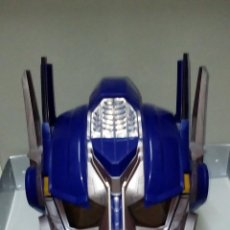 Figuras y Muñecos Transformers: -CASCO OPTIMUS PRIME CYBE - HASBRO-CON SONIDOS -MICRO CON MODULADOR DE VOZ-. Lote 93753025
