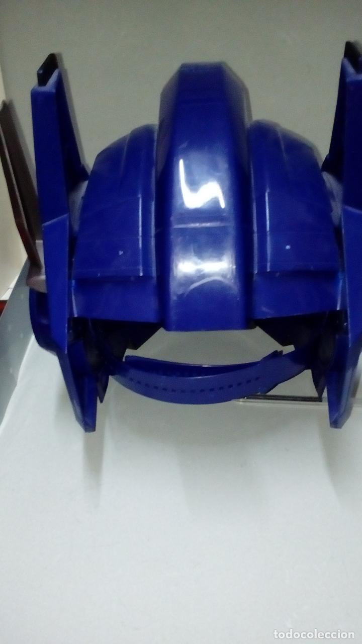 Figuras y Muñecos Transformers: -CASCO OPTIMUS PRIME CYBE - HASBRO-CON SONIDOS -MICRO CON MODULADOR DE VOZ- - Foto 3 - 93753025