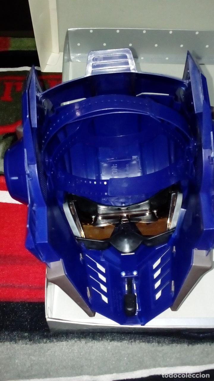 Figuras y Muñecos Transformers: -CASCO OPTIMUS PRIME CYBE - HASBRO-CON SONIDOS -MICRO CON MODULADOR DE VOZ- - Foto 4 - 93753025