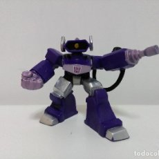 Figuras y Muñecos Transformers: FIGURA TRANSFORMERS - ROBOT HEROES - SHOCKWAVE - DECEPTICON. Lote 94135570