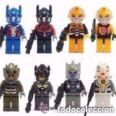 Figuras y Muñecos Transformers: 8 FIGURAS DE TRANSFORMERS (NUEVO) LOTE 1. Lote 95254347