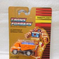 Figuras y Muñecos Transformers: TRANSFORMERS AUTOBOT THROTTLEBOT WIDELOAD RARO!!!!!!! UNA JOYA!!!!!!. Lote 95931975