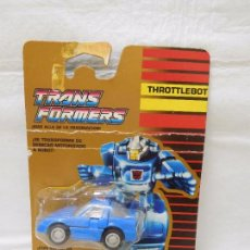 Figuras y Muñecos Transformers: BLISTER TRANSFORMERS AÑOS 90 AUTOBOT FREEWAY THROTTLEBOT MUY DIFICIL VER DESCRIPCION. Lote 95932135