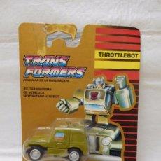 Figuras y Muñecos Transformers: TRANSFORMERS AUTOBOT THROTTLEBOT ROLLBAR RARO!!!!!!! UNA JOYA!!!!!!. Lote 95932251