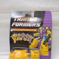 Figuras y Muñecos Transformers: TRANSFORMERS CONSTRUCTICONS DECEPTICON HORMIGONERA. Lote 95932911