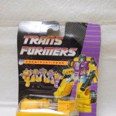 Figuras y Muñecos Transformers: TRANSFORMERS CONSTRUCTICONS DECEPTICON GRUA. Lote 95932995