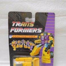 Figuras y Muñecos Transformers: TRANSFORMERS CONSTRUCTICONS DECEPTICON ESCAVADORA. Lote 95933055