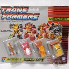 Figuras y Muñecos Transformers: TRANSFORMERS AUTOBOT CONSTRUCTION PATROL NUEVO.. Lote 95933227
