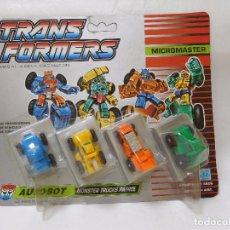 Figuras y Muñecos Transformers: TRANSFORMERS AUTOBOT MONSTERS TRUCK PATROL NUEVO.. Lote 95933295