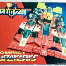 Figuras y Muñecos Transformers: GATTIGER COMPACT SUPERCARS GIOCHI PREZIOSI COCHES AÑOS 90 - NUEVO. Lote 97589863