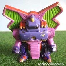 Figurines et Jouets Transformers: MUÑECO ROBOT TRANSFORMER MORADO FIGURA CON CABEZA DE SERPIENTE AÑOS 80-90. Lote 99479427