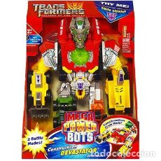 Figuras y Muñecos Transformers: TRANS FORMERS MEGA POWER BOTS REVENGE OF THE FALLER TRY ME. Lote 101408111