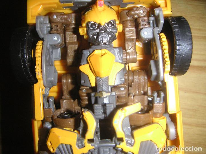 Figuras y Muñecos Transformers: Transformer Bumblebee Leader Class Mechtech (Hasbro, 2011) Transformers Dark of the moon - Foto 6 - 110436227