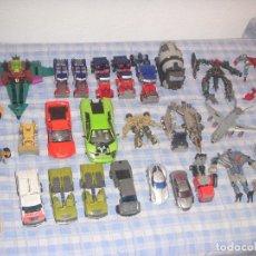 Figuras y Muñecos Transformers: LOTE DE TRANSFORMERS INCOMPLETOS (PARA REPARAR O PIEZAS) + LOTE DE PIEZAS SUELTAS. Lote 102036759