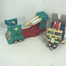Figuras y Muñecos Transformers: TRANSFORMERS HASBRO 1984 TAKARA - ULTRA MAGNUS TRAILER-CAMION -FIGURA TRANSFORMER REMOLQUE. Lote 106057799