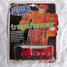 Figuras y Muñecos Transformers: CAMIÓN GALAXY TRANSFORMER SIN ABRIR BIMBA AÑOS 80. Lote 106239715