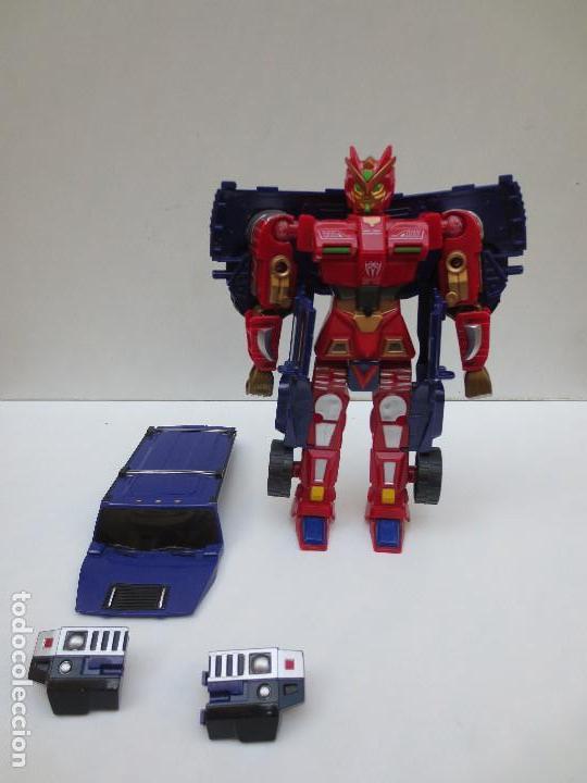 TRANSFORMERS - HUMMER. (Juguetes - Figuras de Acción - Transformers)