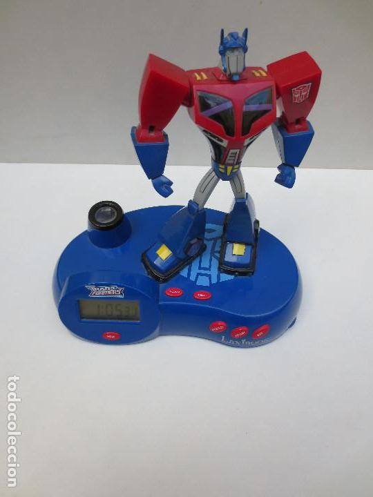 Figuras y Muñecos Transformers: RADIO RELOJ DESPERTADOR PROYECTOR - TRANSFORMERS - Foto 2 - 107188959