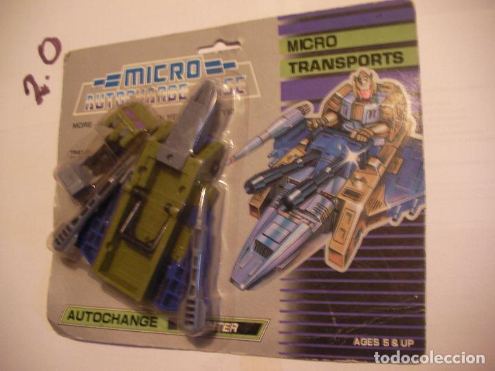 ANTIGUO TRANSFORMERS MICRO TRANSPORT NUEVO DE TIENDA (Juguetes - Figuras de Acción - Transformers)
