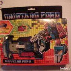 Figuras y Muñecos Transformers: ANTIGUO TRANSFORMERS MUSTANG FORD NUEVO DE TIENDA. Lote 108321979