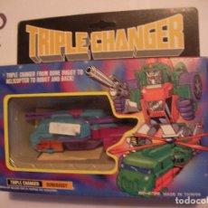 Figuras y Muñecos Transformers: ANTIGUO TRANSFORMERS TRIPLE CHANGER DUNEBUGGY NUEVO DE TIENDA. Lote 108321999