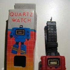 Figuras y Muñecos Transformers: RELOJ VINTAGE AÑOS 80 ROBOT. Lote 110905047