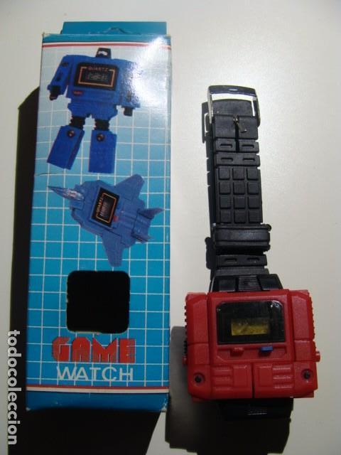reloj vintage años 80 robot