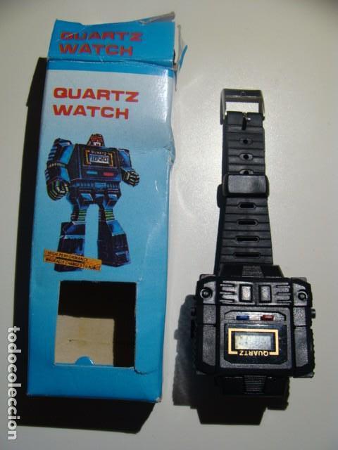 RELOJ VINTAGE AÑOS 80 ROBOT (Juguetes - Figuras de Acción - Transformers)