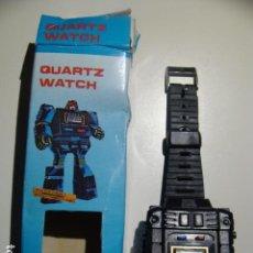 Figuras y Muñecos Transformers: RELOJ VINTAGE AÑOS 80 ROBOT. Lote 110905239