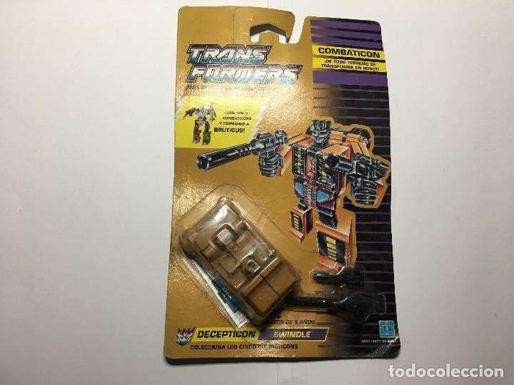 TRANSFORMERS COMBATICON DECEPTICON SWINDLE DE HASBRO (Juguetes - Figuras de Acción - Transformers)