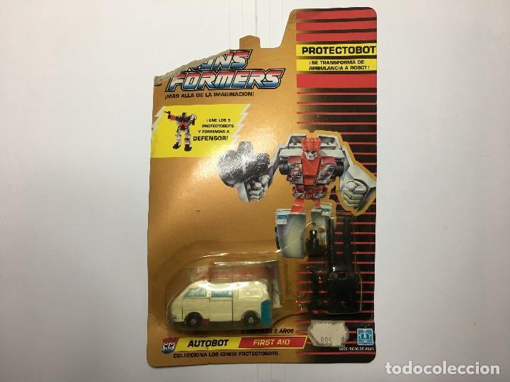 TRANSFORMERS PROTECTOBOT AUTOBOT FRIST HAID DE HASBRO (Juguetes - Figuras de Acción - Transformers)