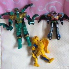 Figuras y Muñecos Transformers: LOTE DE DOS TRANSFORMES BANDAI Y UNO DE REGALO. Lote 113822595