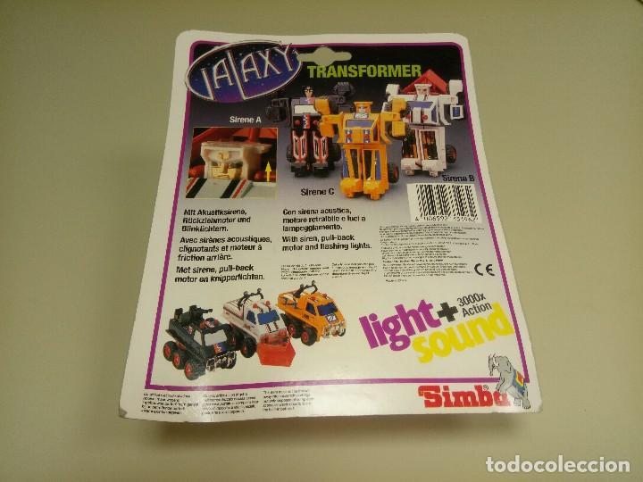 Figuras y Muñecos Transformers: 918- SIRENE C TRANSFORMER SIMBA NEW SONIDO Y LUCES(5) - Foto 2 - 115111263