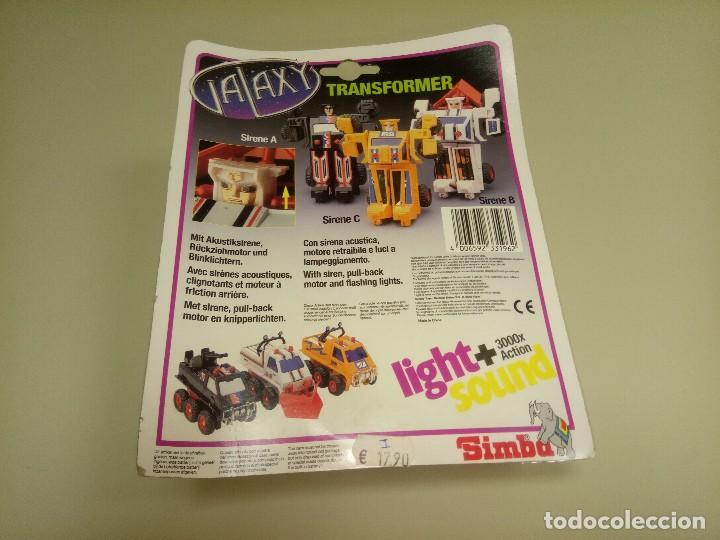 Figuras y Muñecos Transformers: 918- SIRENE A TRANSFORMER SONIDO Y LUZ NEW SIMBA(2) - Foto 2 - 115112807