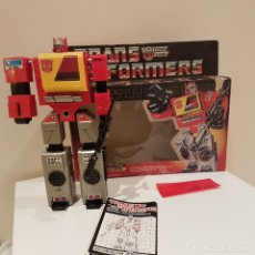 Figuras y Muñecos Transformers: TRANSFORMERS AUTOBOT BLASTER 1985 MADE IN JAPAN. Lote 115338883