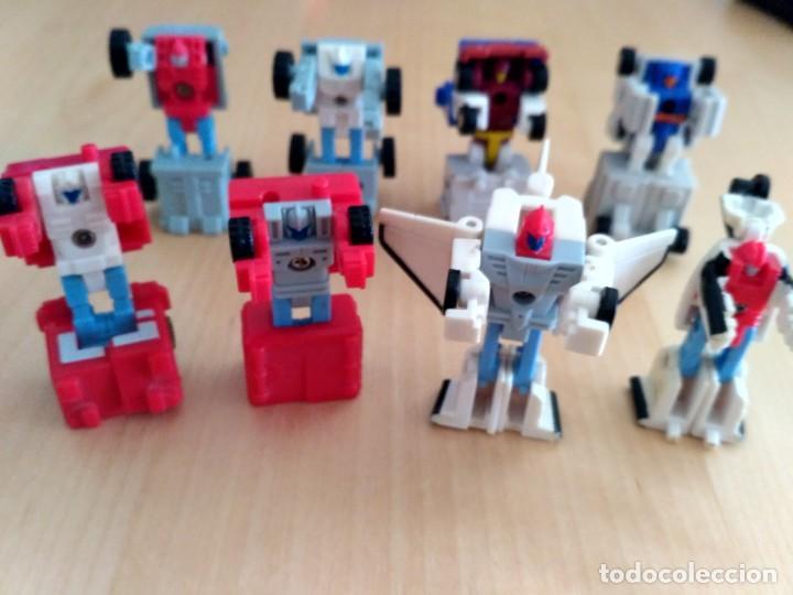 LOTE 4 FIGURAS DOBLES MINI TRANSFORMER - HASBRO TAKARA AÑOS 80 - 90 (Juguetes - Figuras de Acción - Transformers)