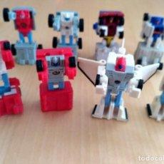 Figuras y Muñecos Transformers: LOTE 4 FIGURAS DOBLES MINI TRANSFORMER - HASBRO TAKARA AÑOS 80 - 90. Lote 219526940
