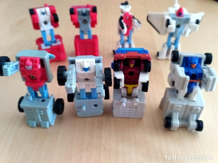 Figuras y Muñecos Transformers: Lote 4 figuras dobles Mini Transformer - Hasbro Takara años 80 - 90 - Foto 2 - 115922795