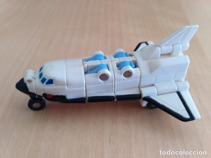 Figuras y Muñecos Transformers: Lote 4 figuras dobles Mini Transformer - Hasbro Takara años 80 - 90 - Foto 4 - 115922795