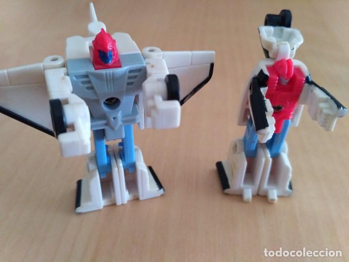 Figuras y Muñecos Transformers: Lote 4 figuras dobles Mini Transformer - Hasbro Takara años 80 - 90 - Foto 5 - 115922795