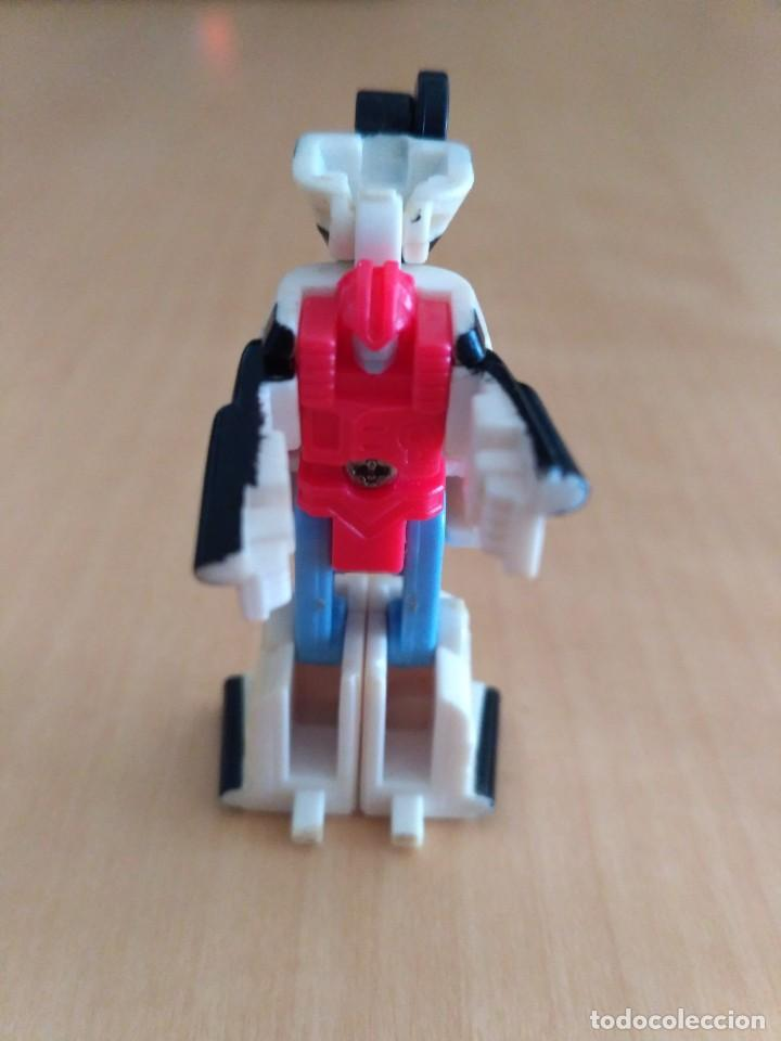 Figuras y Muñecos Transformers: Lote 4 figuras dobles Mini Transformer - Hasbro Takara años 80 - 90 - Foto 6 - 115922795