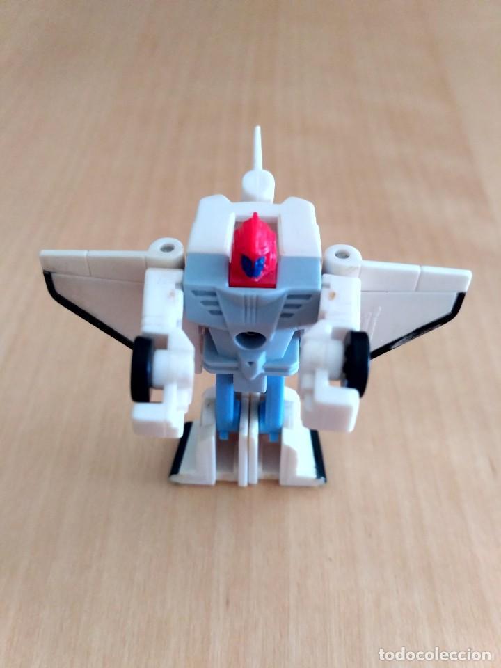 Figuras y Muñecos Transformers: Lote 4 figuras dobles Mini Transformer - Hasbro Takara años 80 - 90 - Foto 7 - 115922795