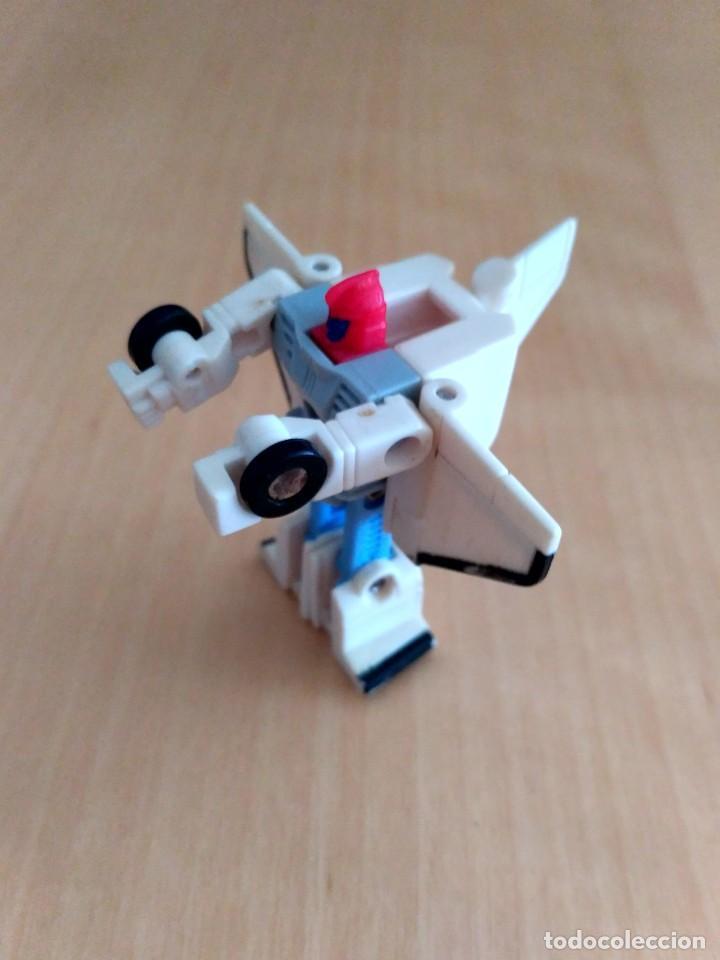 Figuras y Muñecos Transformers: Lote 4 figuras dobles Mini Transformer - Hasbro Takara años 80 - 90 - Foto 8 - 115922795