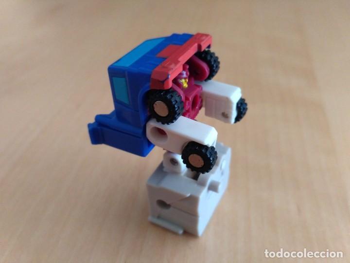 Figuras y Muñecos Transformers: Lote 4 figuras dobles Mini Transformer - Hasbro Takara años 80 - 90 - Foto 12 - 115922795