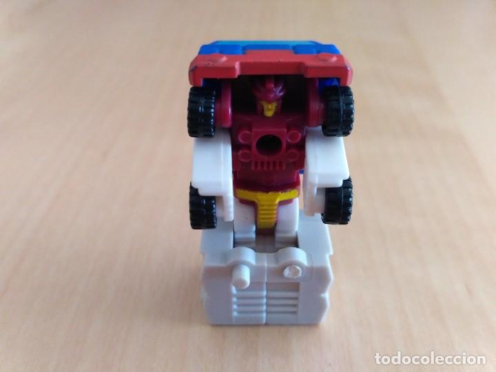 Figuras y Muñecos Transformers: Lote 4 figuras dobles Mini Transformer - Hasbro Takara años 80 - 90 - Foto 13 - 115922795